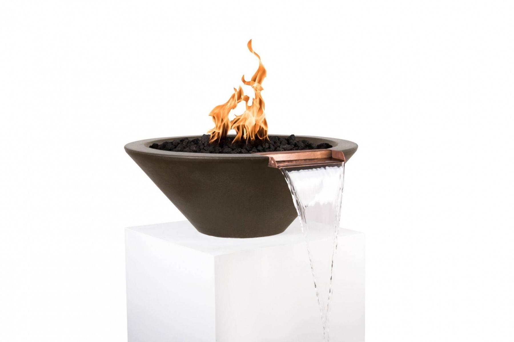 31 pool fire bowl wok gfrc pool fire bowls round pool for Pool fire bowls