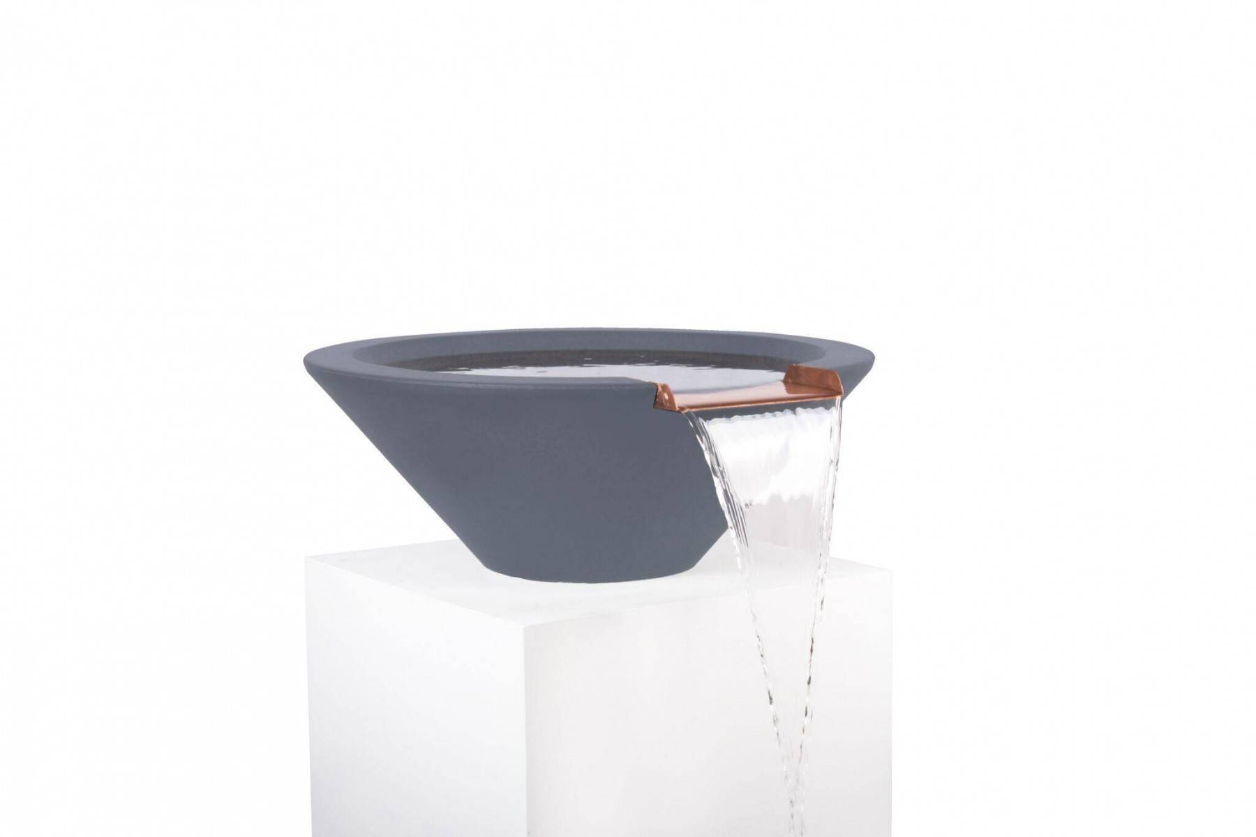Fountain Bowl Wok Style For Your Designer Pool