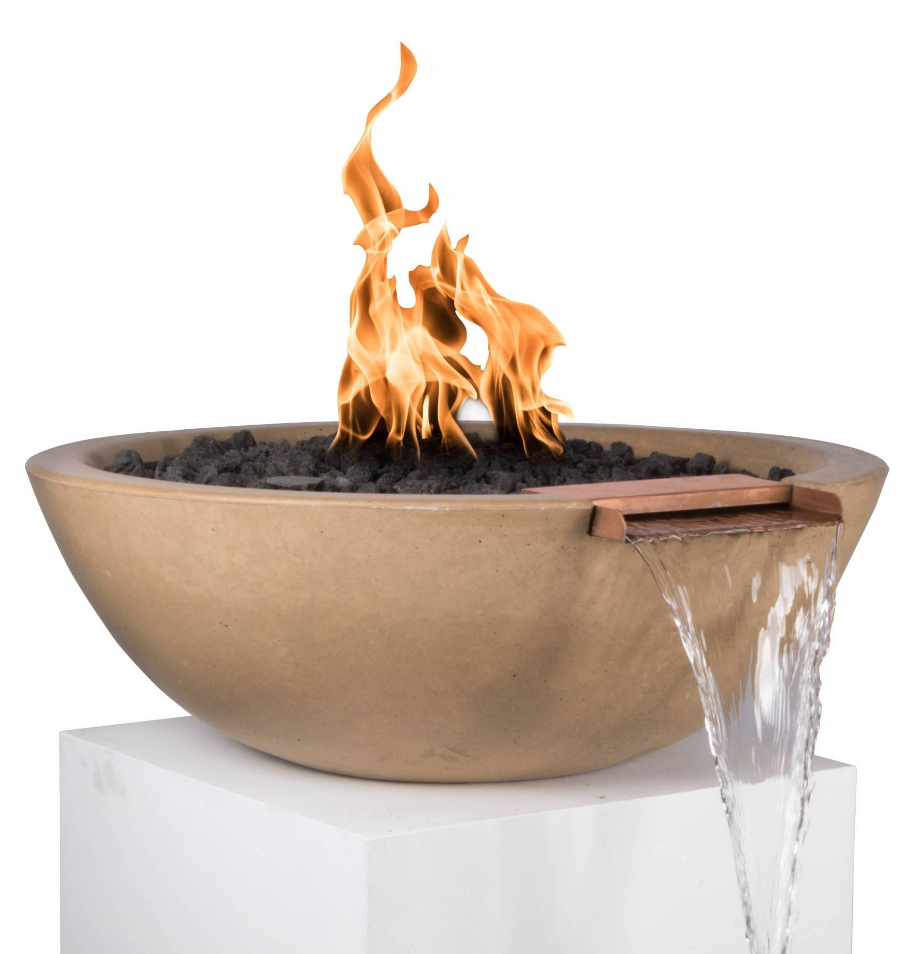 27 pool fire water bowl sedona pool fire bowls - Pool fire bowls ...