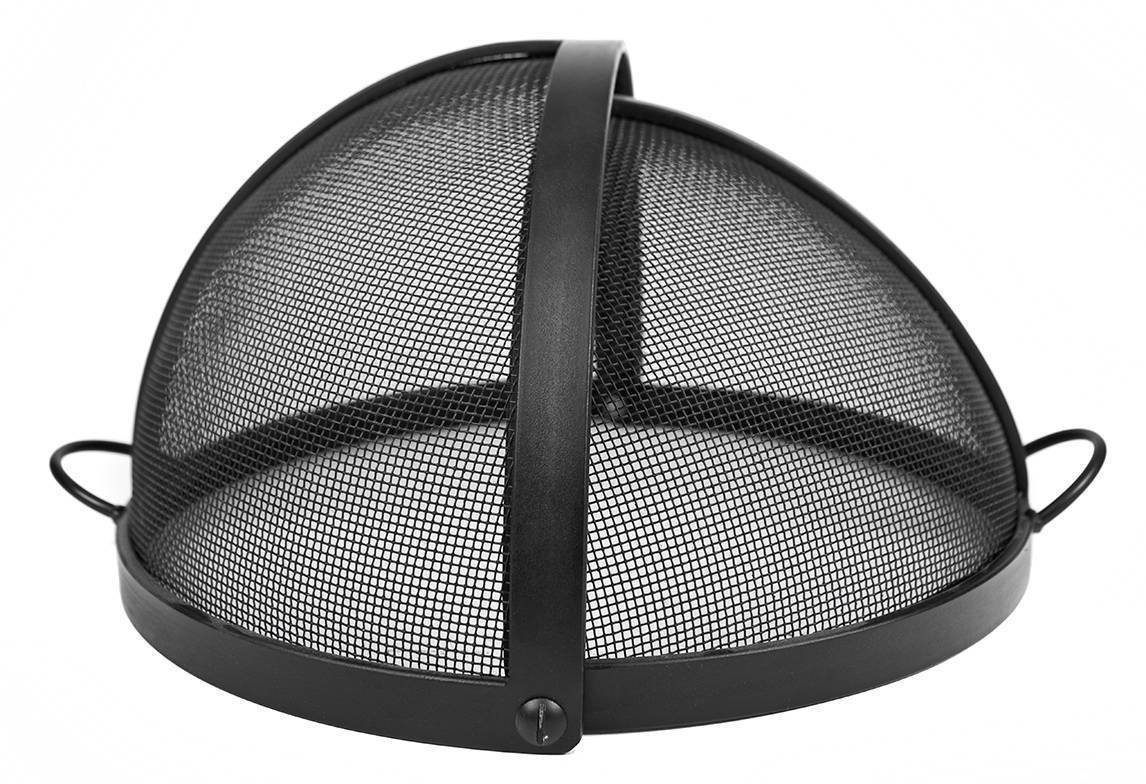 Fire Pit Screen Cover with Pivot Access & Fire Pit Mesh Covers