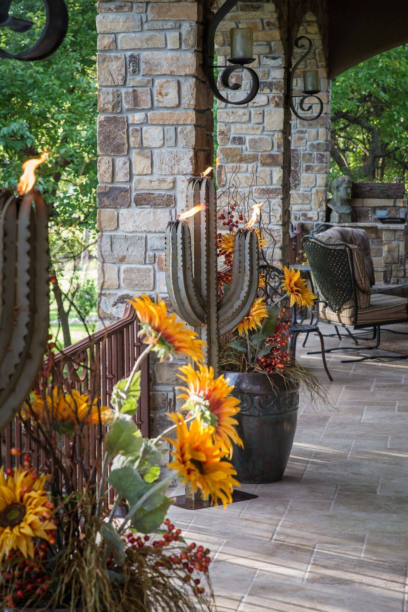 Cactus Torch 5 Tiki Torches