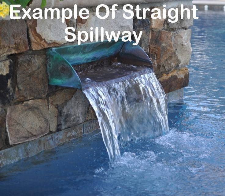 Spillway Scupper Straight Starting At 125 Pool