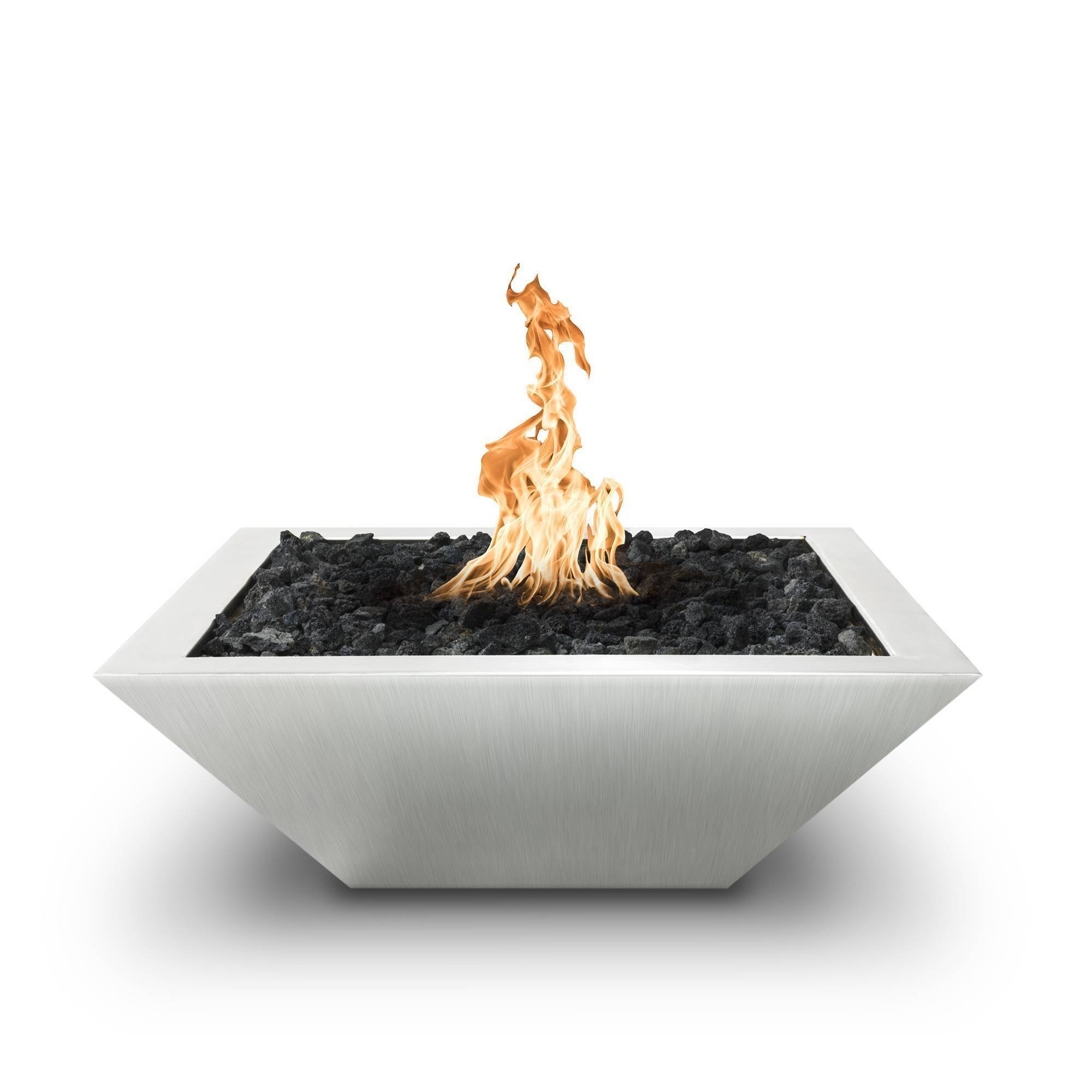 """30"""" Maya Fire Bowl Stainless Steel"""