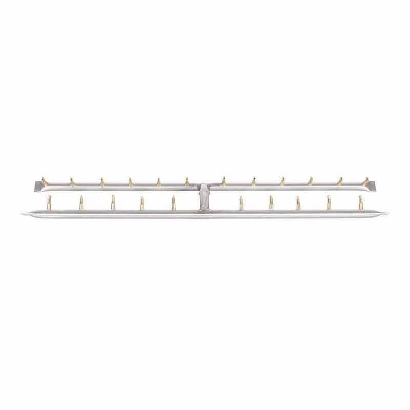 """36"""" x 6"""" H Stainless Steel Bullet Burner 