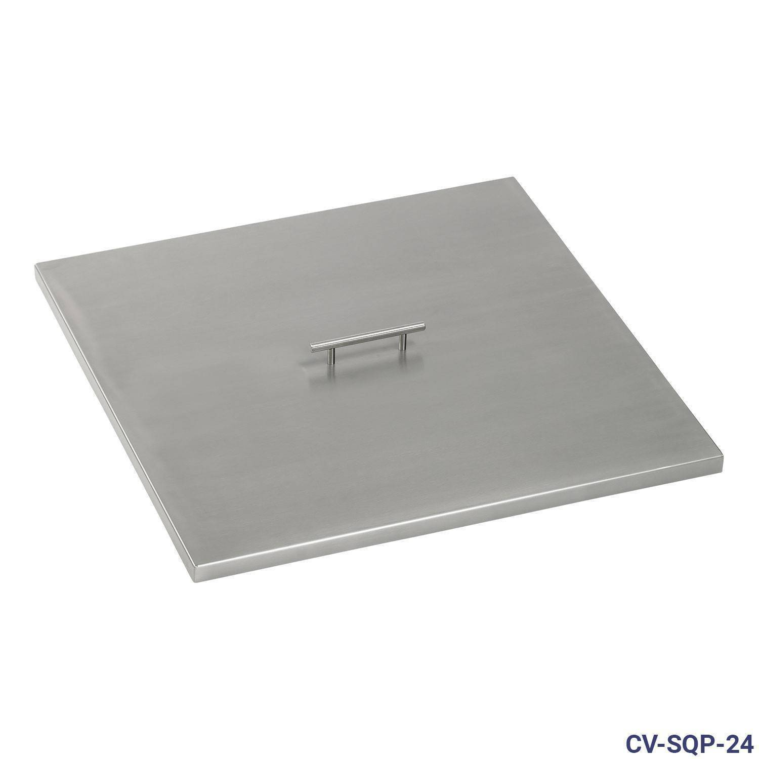 27 inch American FIreglass Stainless Steel Fire Pit Cover