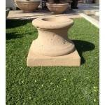 "Concrete Fire Bowl Pedestal. Tuscany 24"" - 47"" 