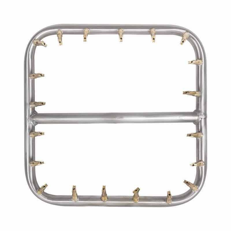 """12"""" Square Stainless Steel Bullet Burner 