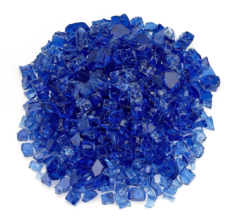 """1/2"""" Cobalt Blue Fire Glass"""