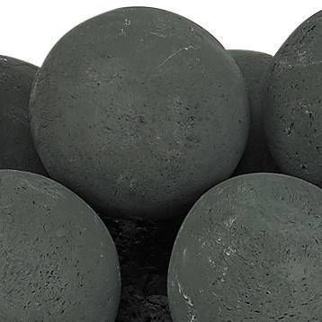 "Matte Black Lite Stone Ball Set 4"" Uniformed Sets 