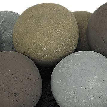 "Natural Lite Stone Ball Set 4"" Uniformed Sets 