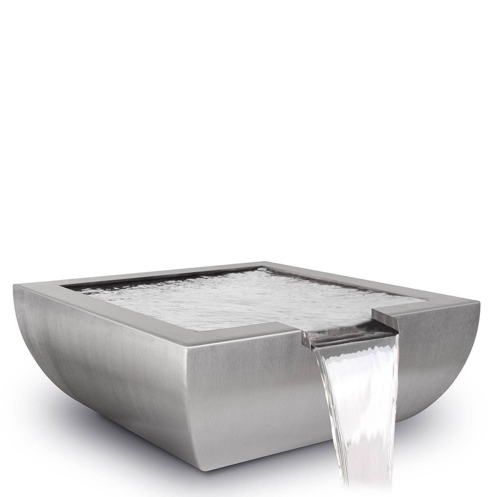 "30"" Avalon Pool Water Bowl - Stainless Steel"