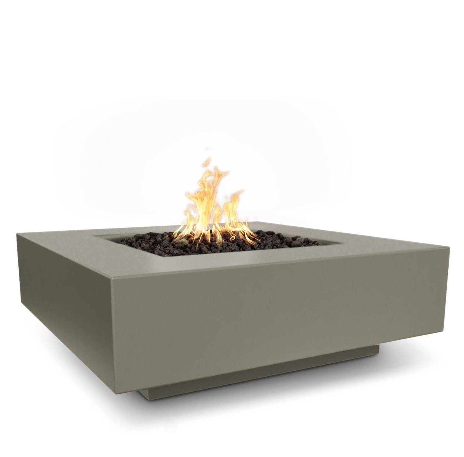 "48"" x 48"" Cabo Concrete Fire Table - Ash"