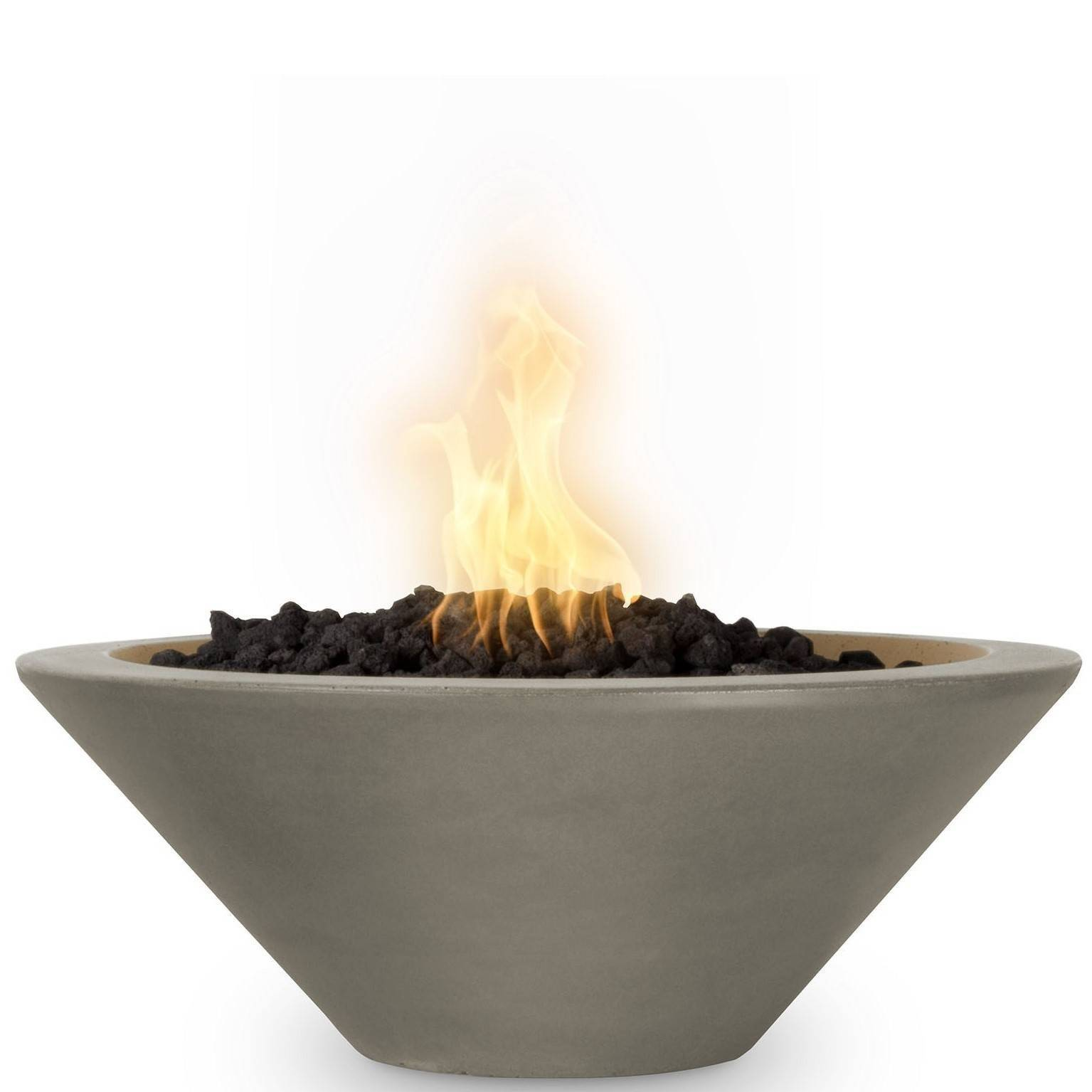 "48"" Cazo Concrete Gas Fire Bowl - Ash"
