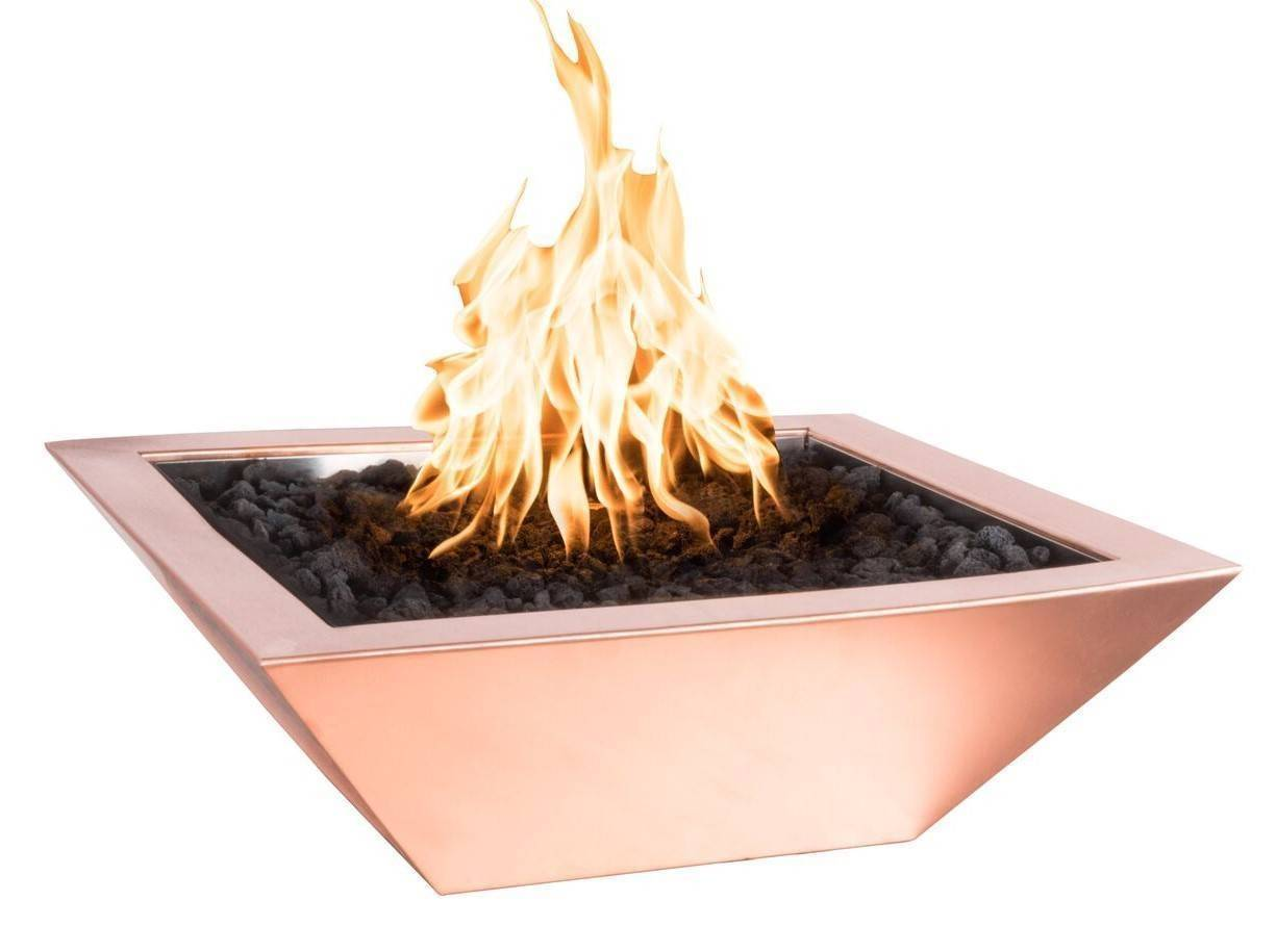 "30"" x 30"" Copper Fire Bowl - Standard Finish"