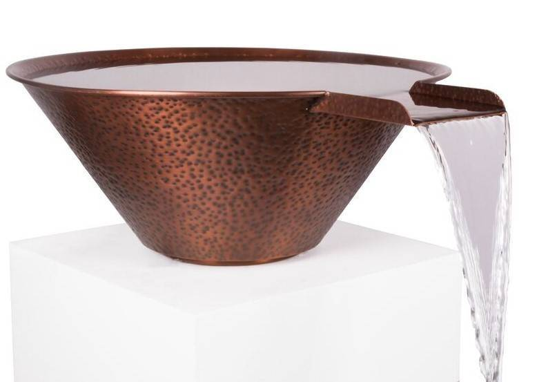 Copper Water Bowl