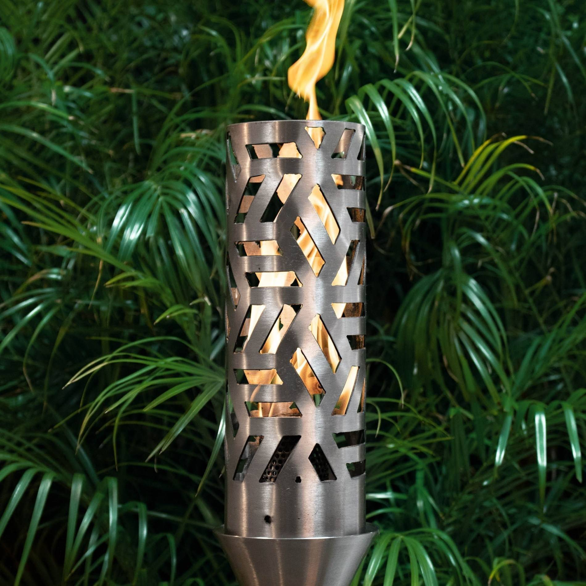 Cubist Gas Tiki Torch