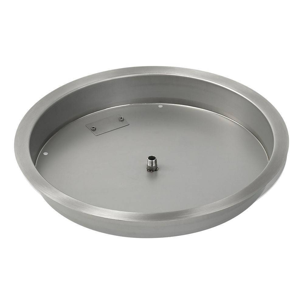 "19"" Drop In Burner Pan. ROUND"
