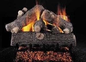 Ceramic Log Set Prestige Oak 30''