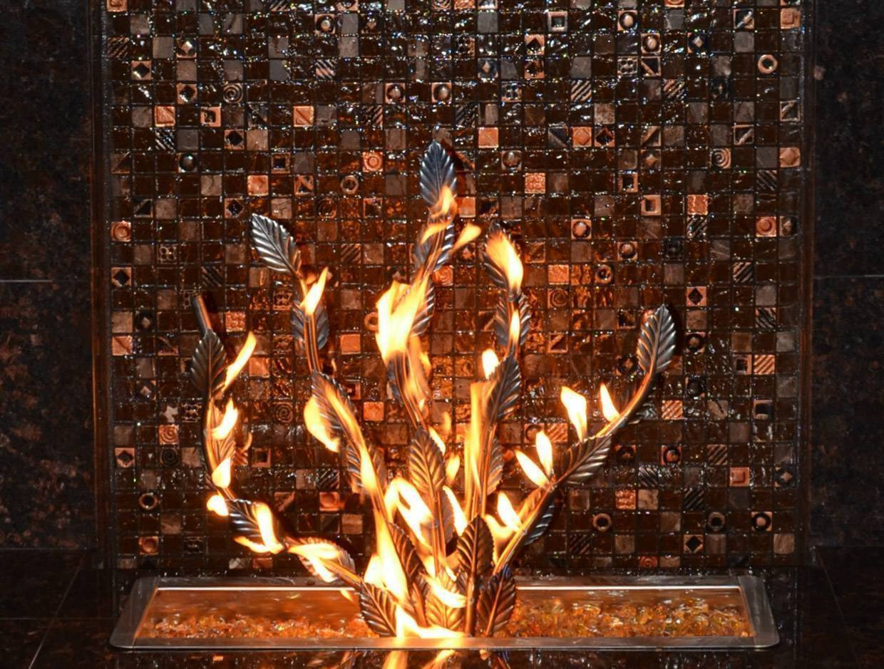 Fire Tree Burner - Stainless Steel - Male Connection | Starting at $650