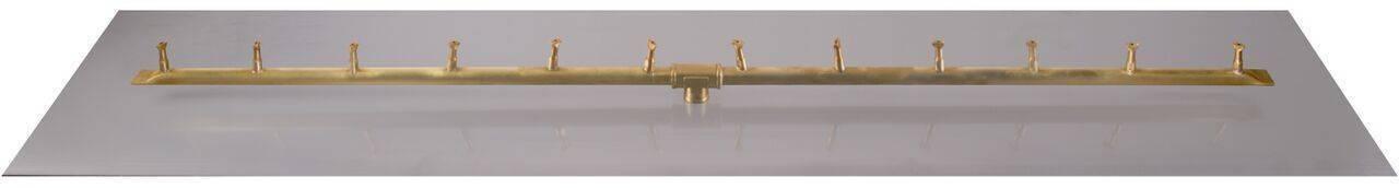 """Linear Flat Pan w/ Linear Bullet Burner (30"""" - 84"""")"""