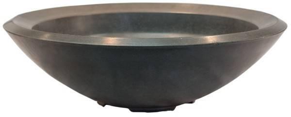 "Pebble Tec 33"" Concrete Round Fire Bowl - Earthcast"