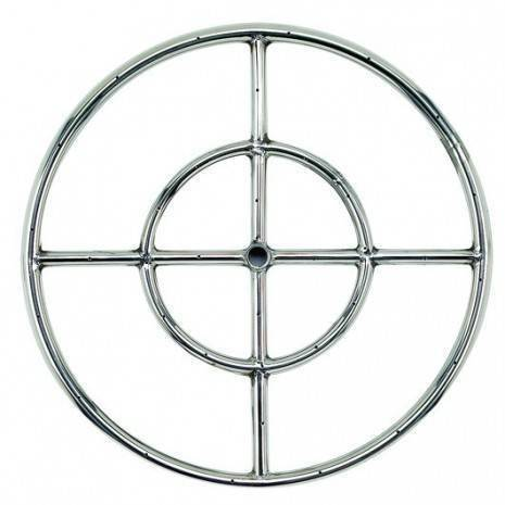 """Gas Fire Pit Ring 18"""" NG"""