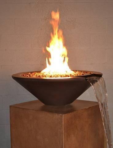 Essex Pool Fire Bowl