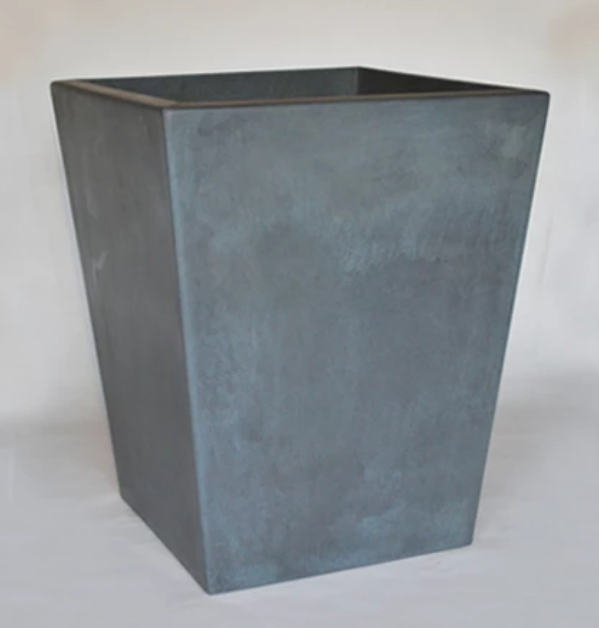 "30"" Kona Tall Precast Concrete Planter - English Lead"