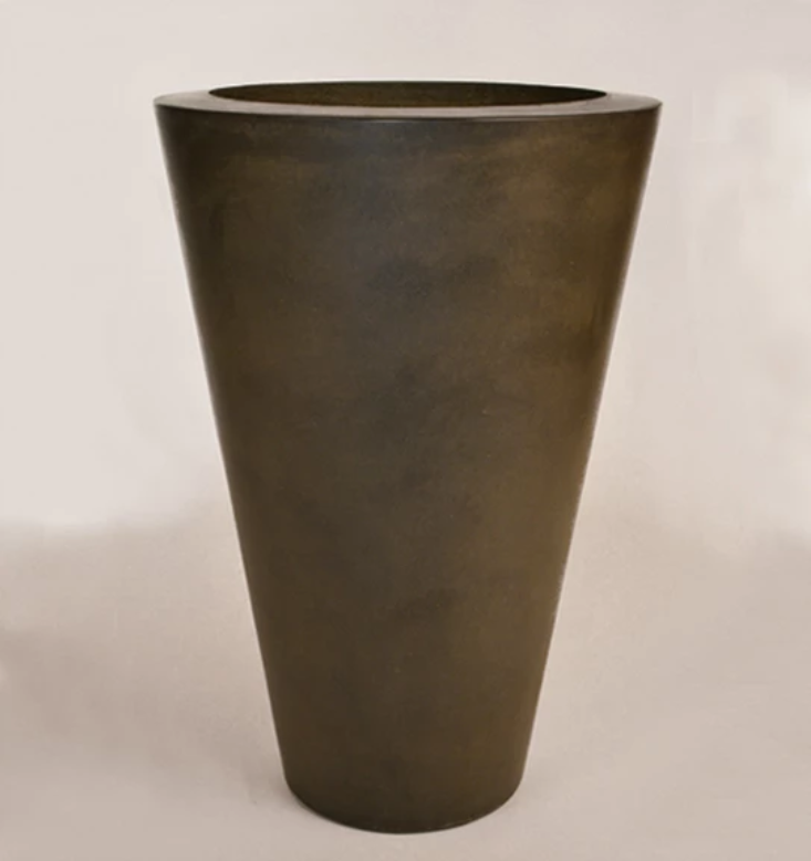 "28"" x 42"" Essex Vase Planter Bowl - Urban Slate"