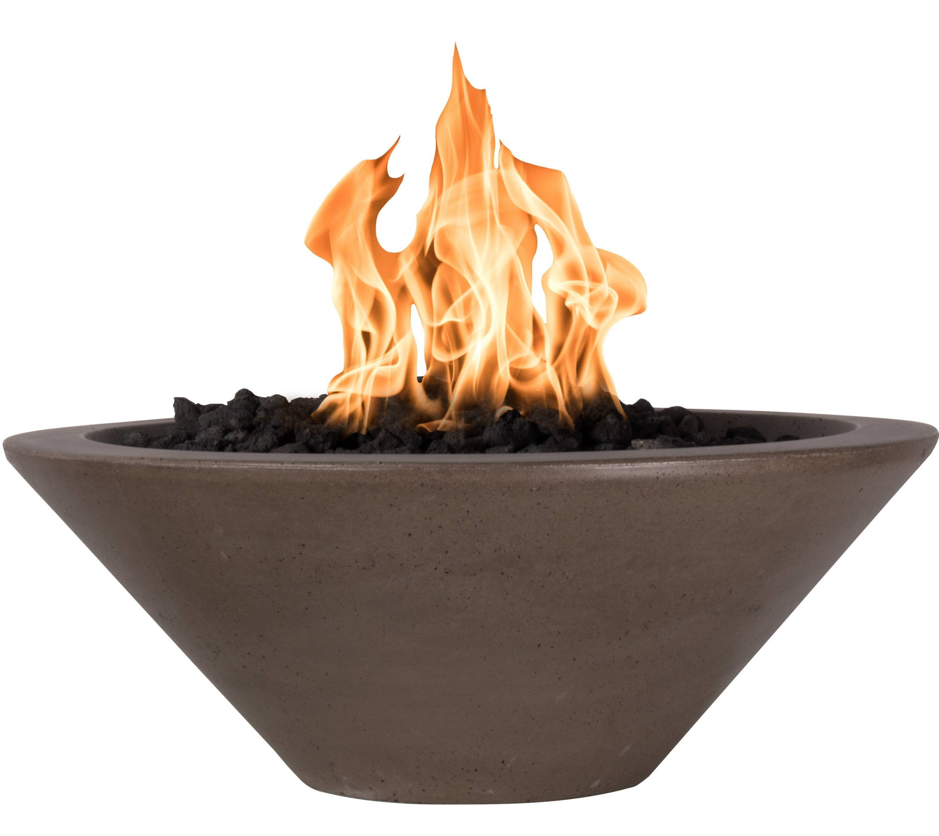 Concrete Fire Bowl WOK Style GFRC | Starting at $1,429