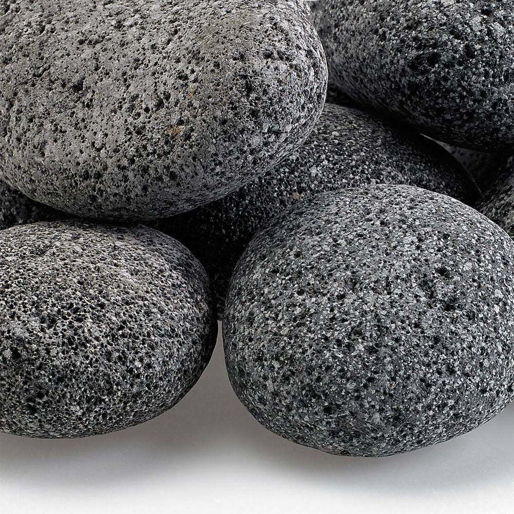 "Large Tumbled Lava Stone (2"" - 4"") - 10 lb. Bag"