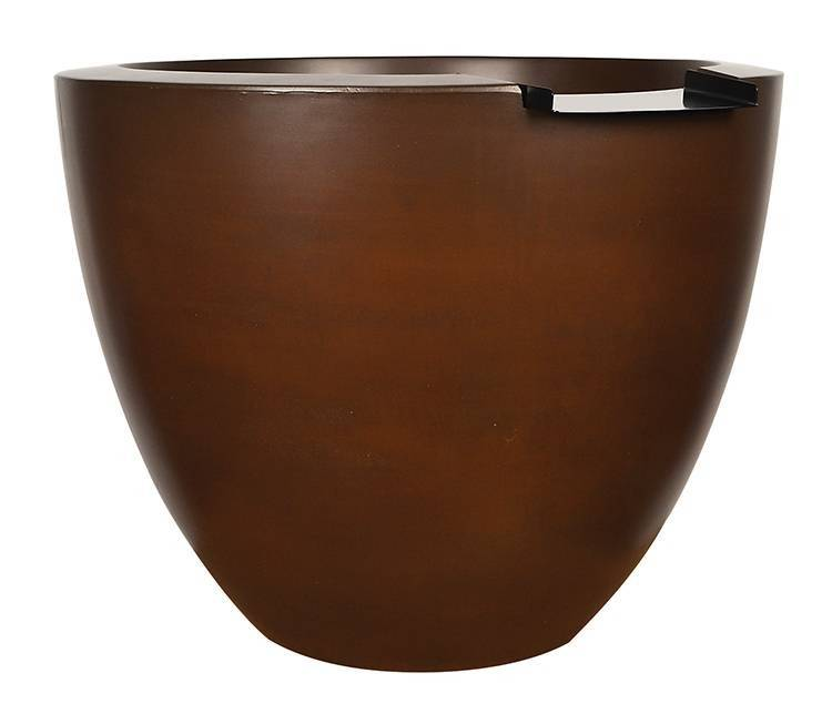 "30"" x 24""h Luxe Tall Water Bowl - Beechwood"