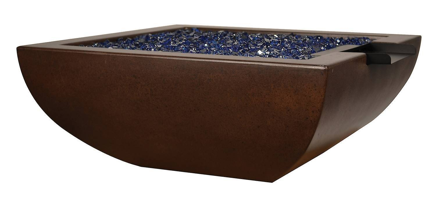 """42"""" Legacy Fire and Water Bowl - Burnt Terra Cotta"""