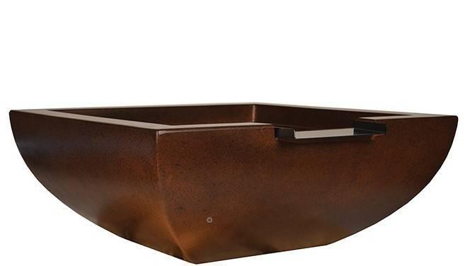 "36"" Legacy Pool Water Bowl - Burnt Terra Cotta"
