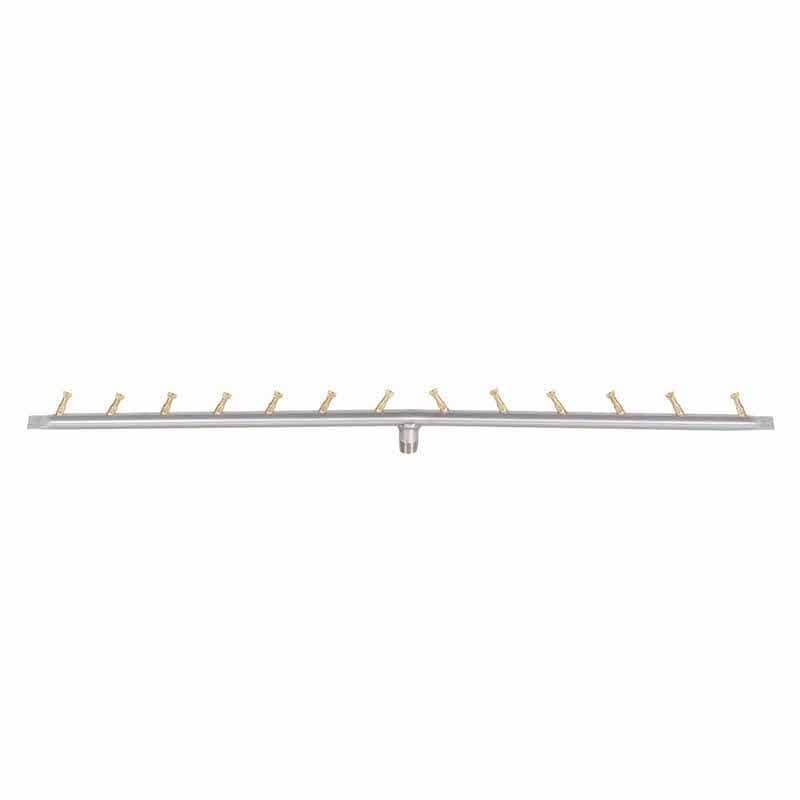 """36"""" Linear Stainless Steel Bullet Burner   50% More Flame, 30% Less Gas"""