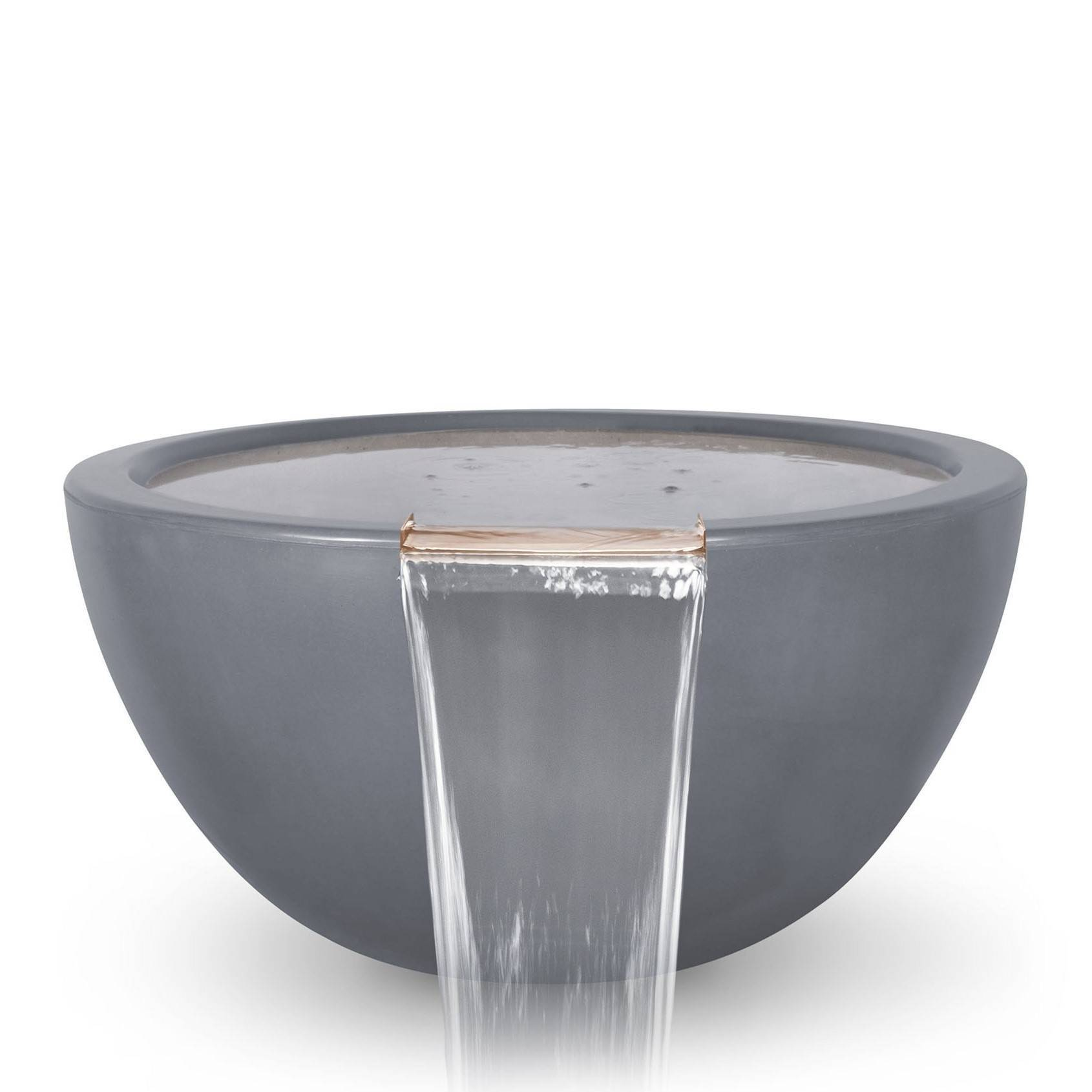 "30"" Luna Pool Water Bowl - Grey"