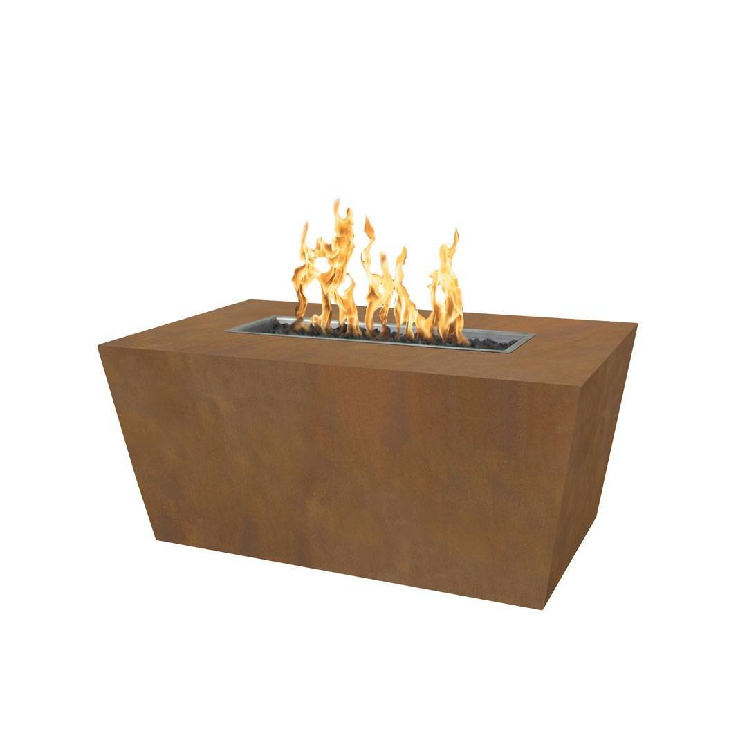 "60"" Mesa Steel Fire Pit Table - Corten Steel"