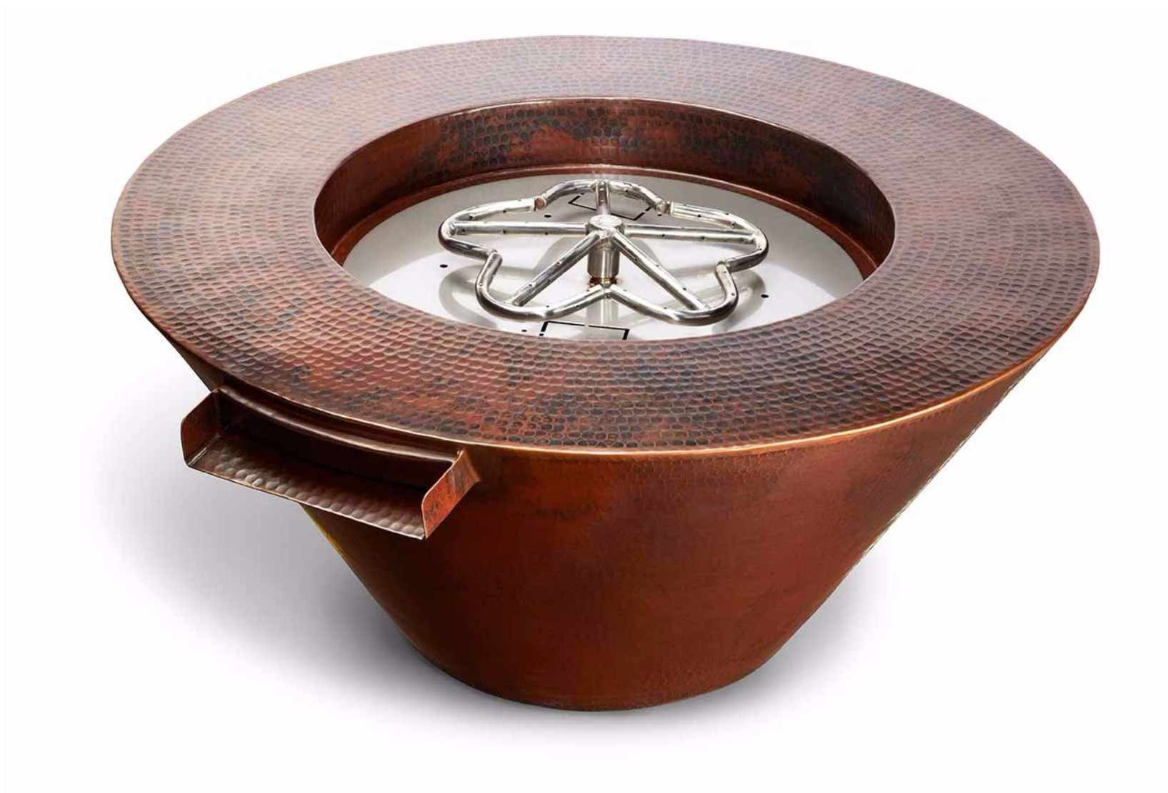 "32"" Mesa Copper Fire and water Bowl"
