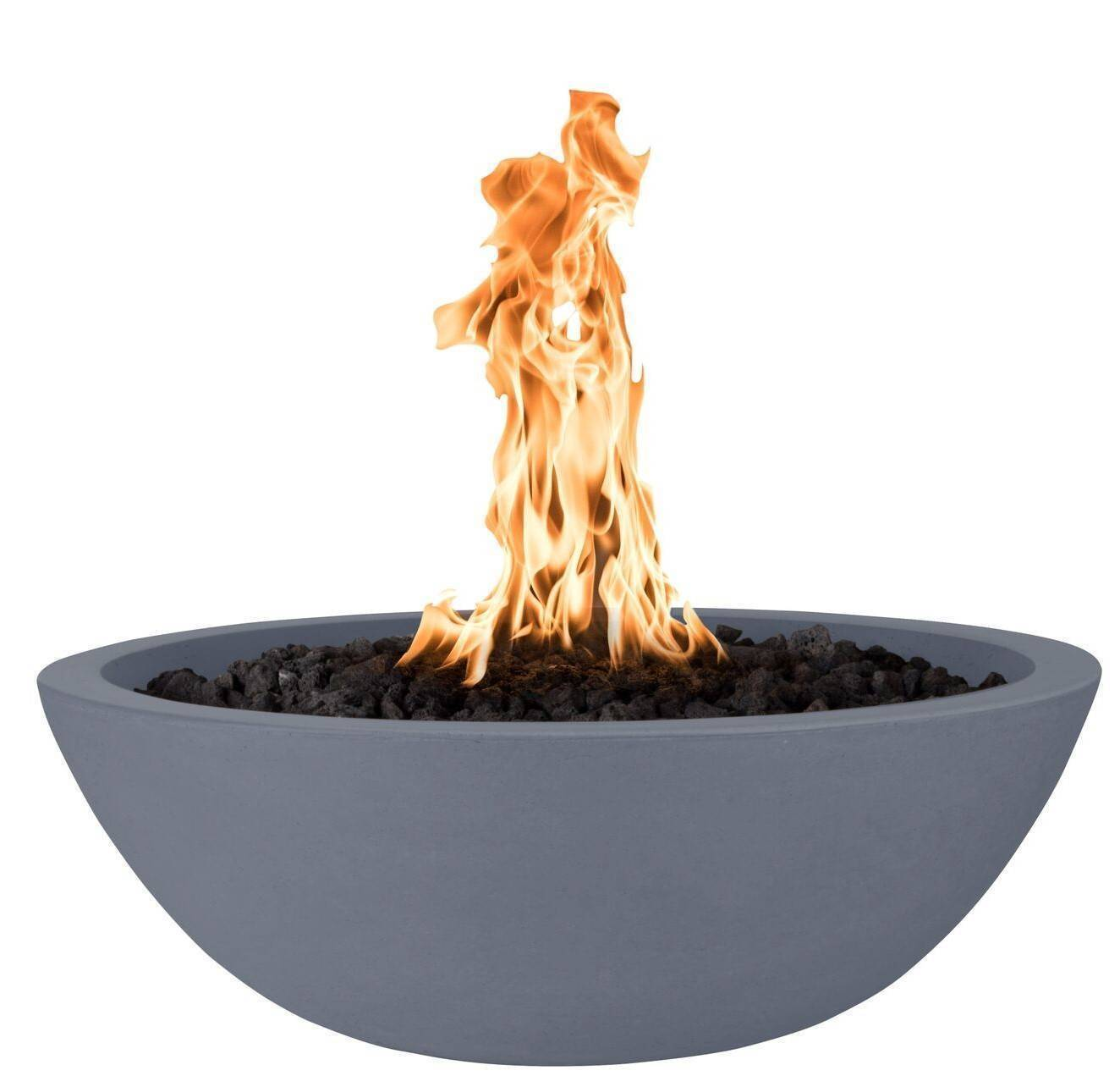 "33"" Sedona Concrete Gas Fire Bowl - Gray"