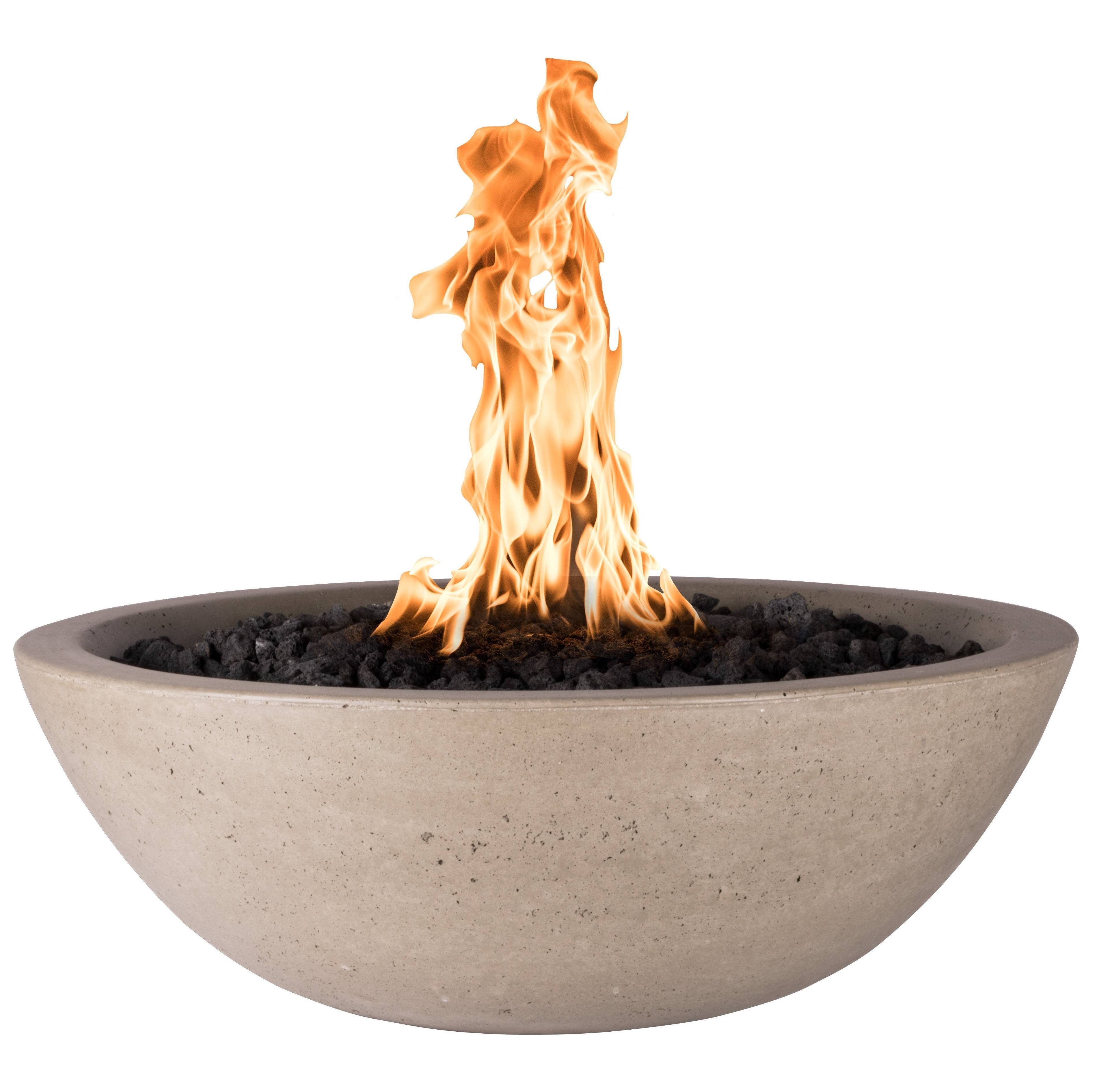 Concrete Fire Bowl Round GFRC | Starting at $1,429