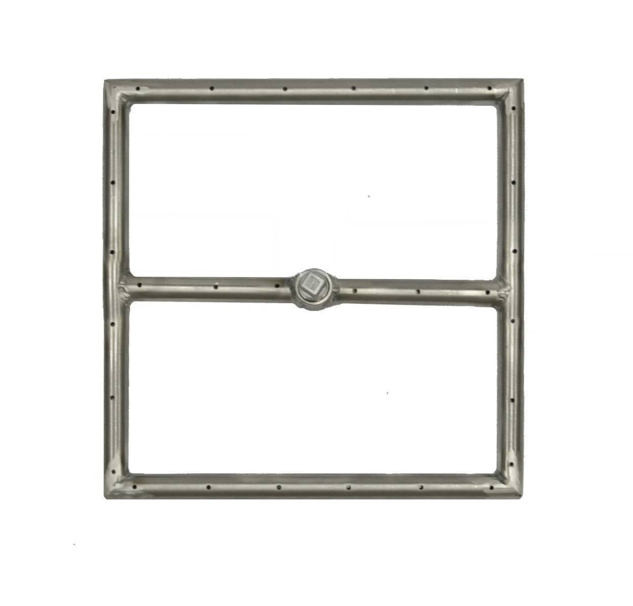 """12"""" x 12"""" Gas Fire Ring Fire Pit Burner"""