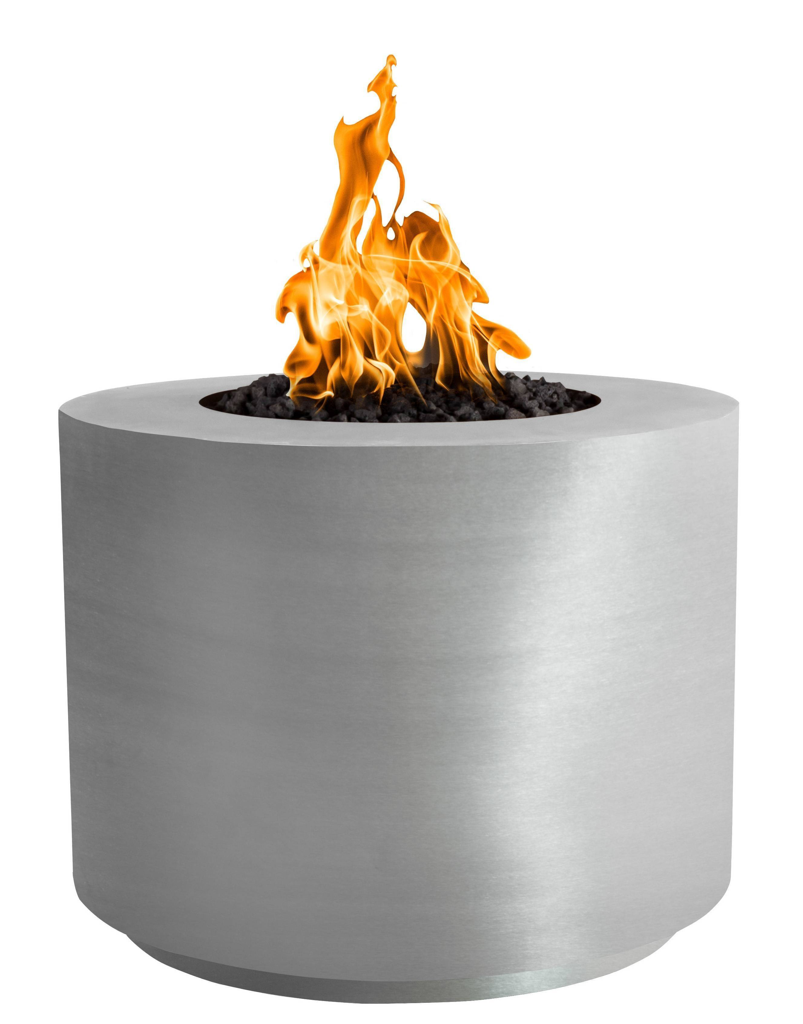 Steel Fire Pit Table - Cirque SS | Starting at $3,050