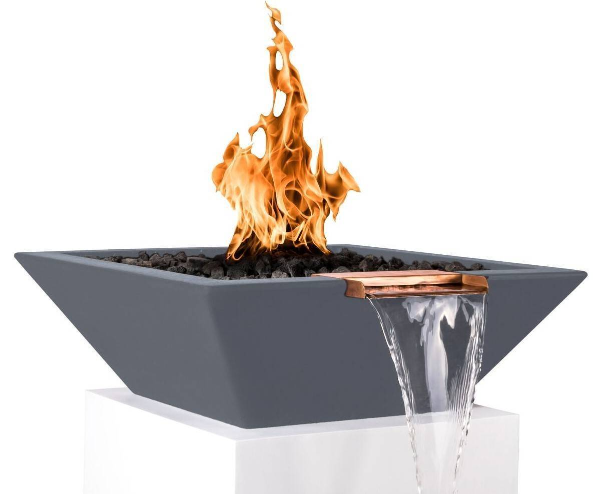 "24"" x 24"" x 8"" Pool Fire Bowl 