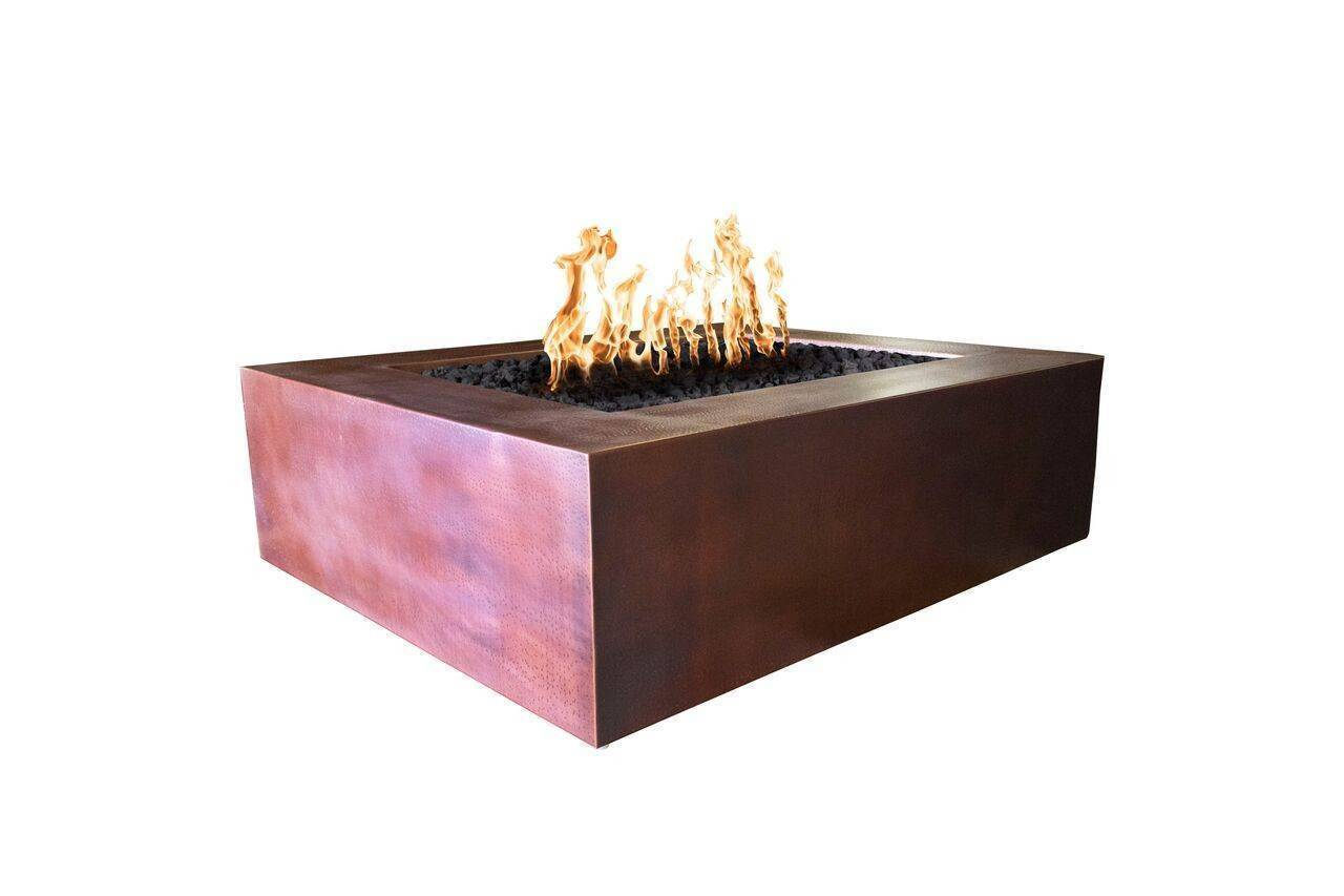 Denali Copper Fire Pit Table | Starting at $3,700