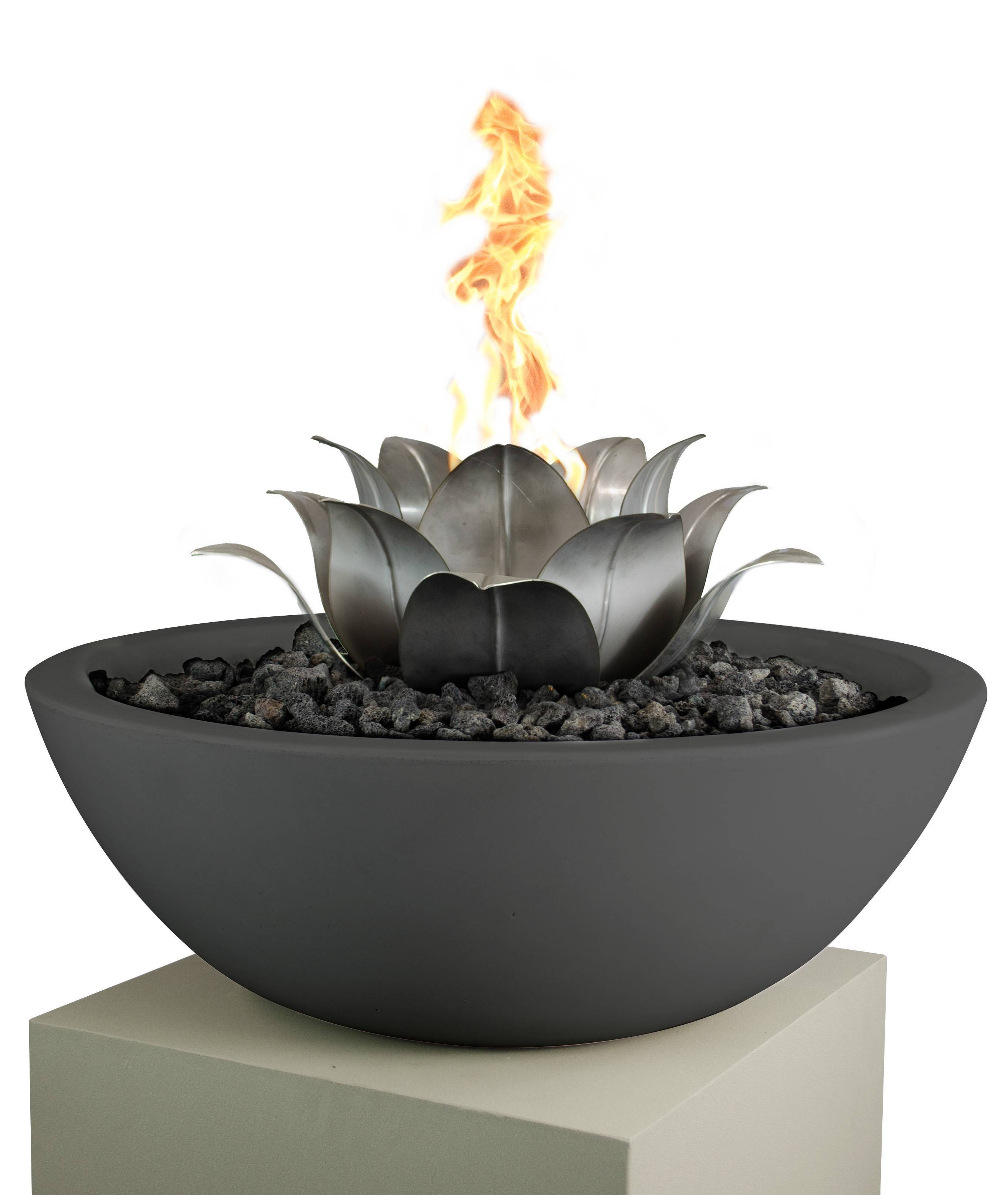 Lotus Flower Burner - Stainless Steel - Male Connection | Starting at $1,050