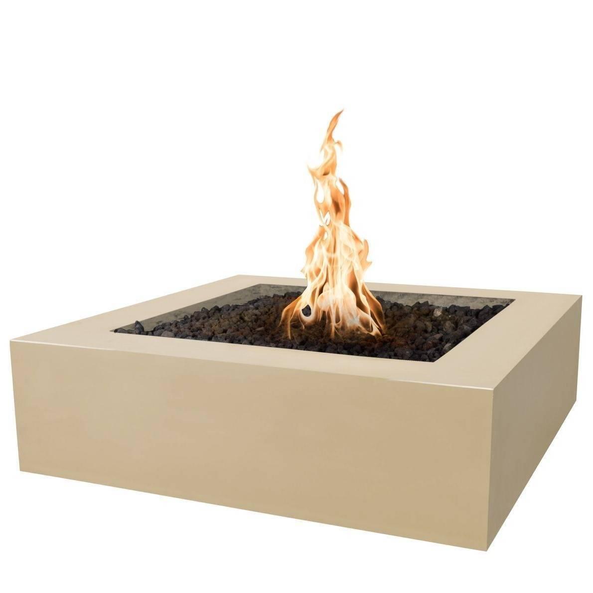 """42"""" Quad Square Fire Pit Table - Vanilla"""
