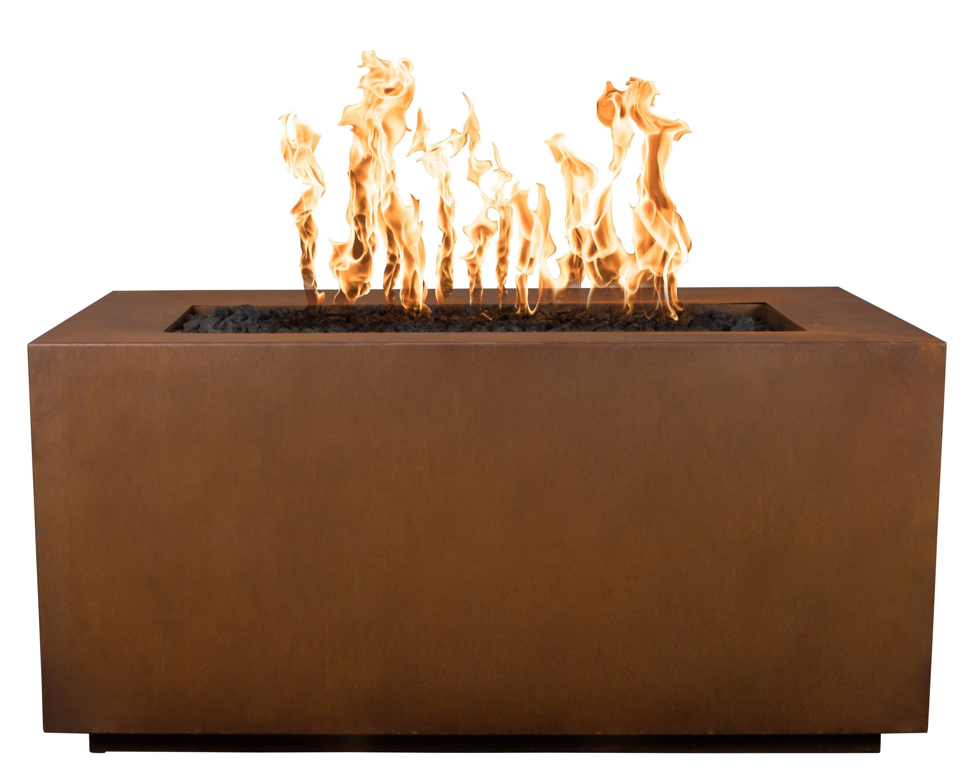 Steel Fire Pit Table - Alpine Corten | Starting at $2,325