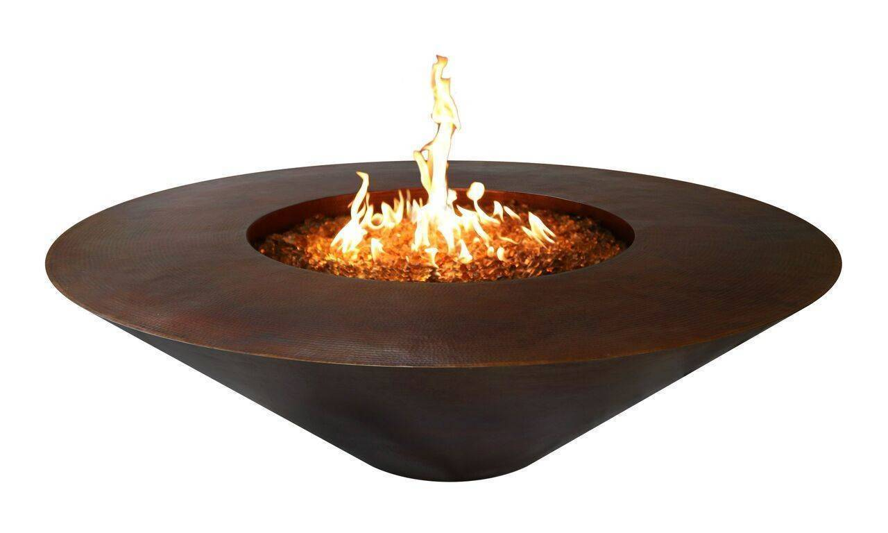 Wok Copper Fire Pit Table | Starting at