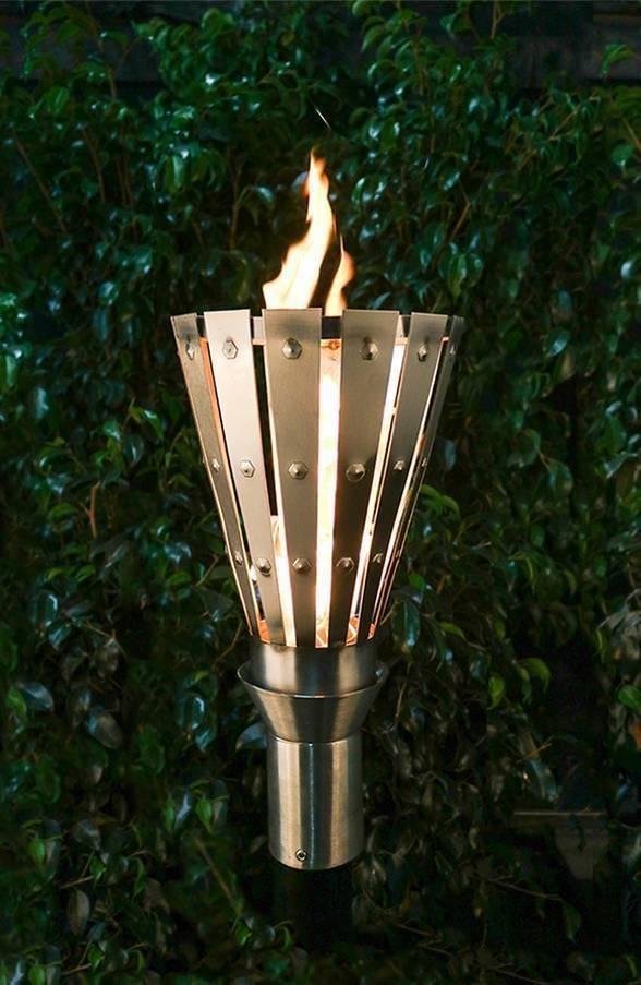 Medieval Top Torch - Gas Tiki Torch