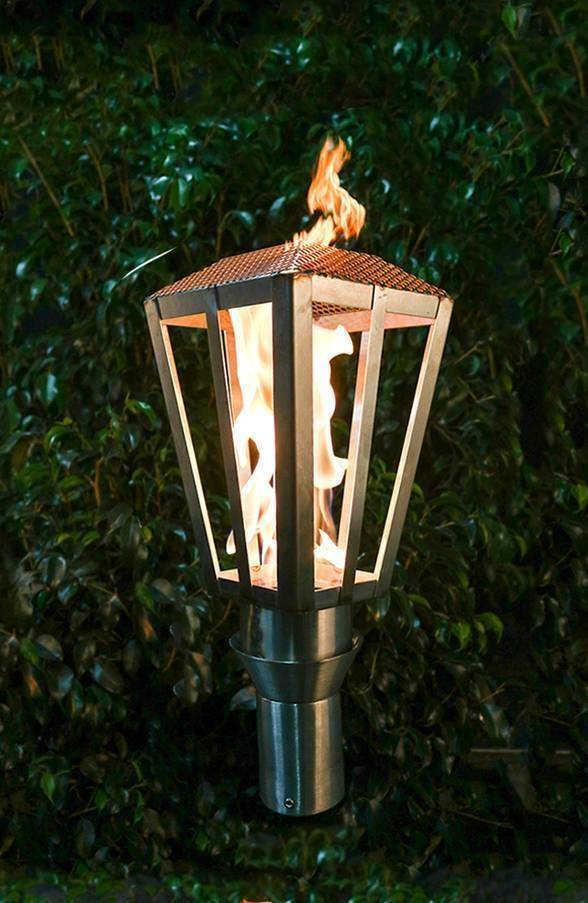 Lantern Top Torch Modern Tiki Torches Tiki Torches